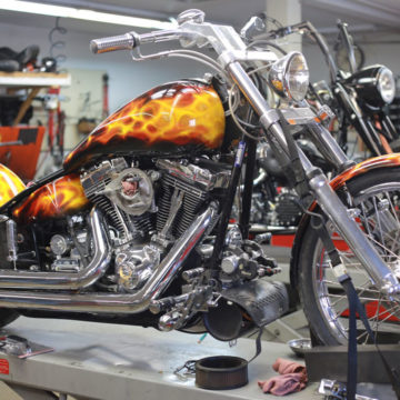 Motorcycle Ian-Flame