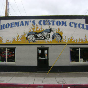 Shoeman's Custom Cycle – Front Shop